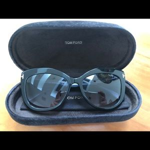 Tom Ford Alistair Sunglasses in Black